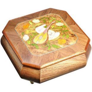 雷曼士30音木质首饰音乐盒八音盒Y30M6创意送女生日情人节礼物品摆件精品