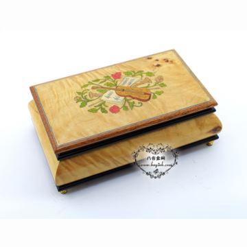 雷曼士木质30音首饰音乐盒八音盒Y30B1M14C创意送闺蜜女生日特礼物精品