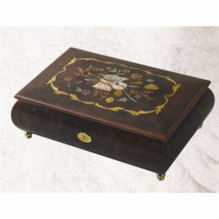 雷曼士50音木质音乐盒八音盒Y50M100-A1高档创意送女生日礼物精品收藏