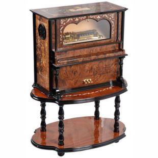 雷曼士78音木质钢琴八音琴八音盒音乐盒Y78B5F1精品创意商务领导礼物
