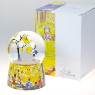 正品幾米几米童年的守护水晶球音乐盒八音盒 创意七夕情人节送女友生日礼物品 摆件