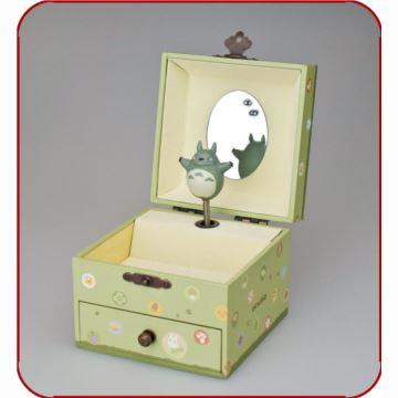 正品宫崎骏吉卜力龙猫豆豆龙首饰盒音乐盒八音盒 创意送女生日礼物精品