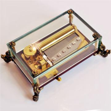 雷曼士50音乐盒八音盒Y50L1高档端大气创意送女生日特别礼物精品可定制