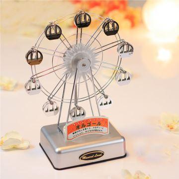 进口旋转摩天轮音乐盒八音盒天空之城创意生日情人节礼物送男女生浪漫