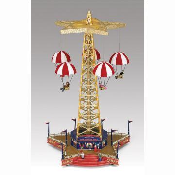 美国Mr Christmas游乐场之降落伞音乐盒八音盒创意送女生日圣诞节礼物