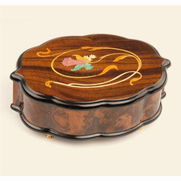 韵升雷曼士50音木质音乐盒八音盒创意送女生日情人节闺蜜特别礼物精品Y50M23