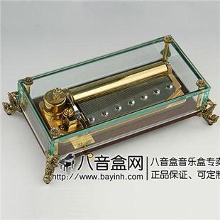 雷曼士78音音乐盒八音盒Y78L1商务创意送领导礼物高档端大气上档次精品