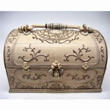 韵升树脂复古音乐盒八音盒首饰盒化妆盒送女生日创意里物品多功能实用