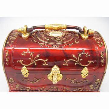 韵升树脂音乐盒八音盒首饰盒收纳盒结婚庆里物品创意生日送女友特别实用