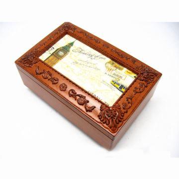 韵升树脂复古首饰盒八音盒音乐盒送朋友老婆女生日特别礼物创意礼品