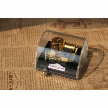 日本sankyo高档复古水晶八音盒音乐盒送女生日情人节创意特别礼物品小樽直供