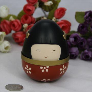 电影紫日同款道具音乐盒八音盒日本和服娃娃情人节生日儿童节创意礼物