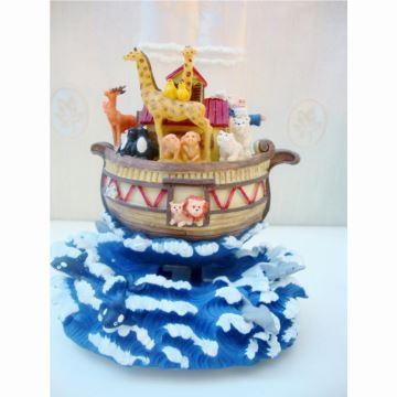 18音Mr Christmas摇摆海盗船八音盒音乐盒创意生日礼物送男女圣诞节日礼物品