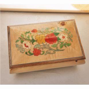 雷曼士木质30音音乐盒八音盒首饰盒Y30MS3-B高端大气送女生日礼物精品