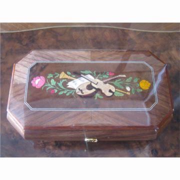 雷曼士50音木质首饰音乐盒八音盒Y50M4高档端创意送女生日特别礼物精品