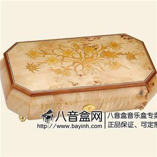 雷曼士78音木质音乐盒八音盒Y78MS2-B高档端创意送女生日礼物精品收藏