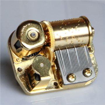 日本Sankyo23音纯金属机械机芯八音盒音乐盒配件DIY创意礼物 多曲可选