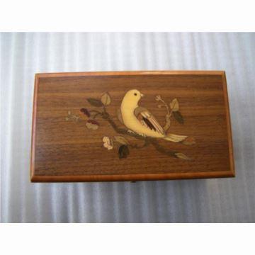 正品瑞士原产进口御爵REUGE八音盒音乐盒50音原木胡桃木顶级音乐盒 收藏商务顶级礼品 二手