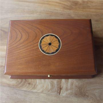 正品瑞士REUGE御爵八音盒36音原木质实木机械音乐盒首饰盒 品相完美 送礼上档次