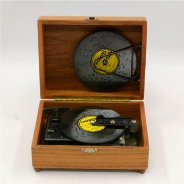 正品瑞士多能仕Thorens碟片八音盒御爵REUGE音乐盒 欧洲西洋古董收藏 高档礼品 品相完好