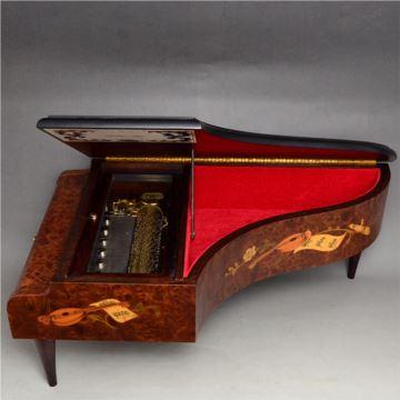 原装瑞士reuge御爵72音梳八音盒音乐盒3首曲高档创意精美礼品摆件收藏