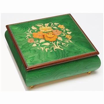 御绝REUGE22木质珠宝首饰盒八音盒音乐盒七夕情人节结婚创意礼物