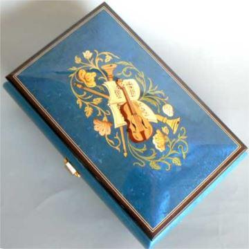 日本进口Sankyo30音木质八音盒音乐盒首饰盒情人节结婚礼物创意礼品