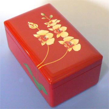 日本进口Sankyo30音木质八音盒音乐盒首饰盒七夕情人节结婚创意礼物