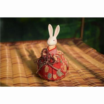 现货日本小樽音乐盒八音盒和服兔先生婚庆结婚情人节生日礼物