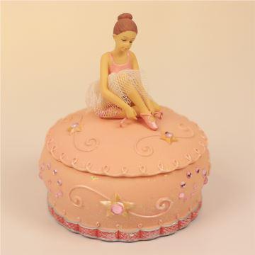 芭蕾舞音乐盒首饰盒八音盒送女生闺蜜生日礼物送儿童女孩子创意实用音乐礼品
